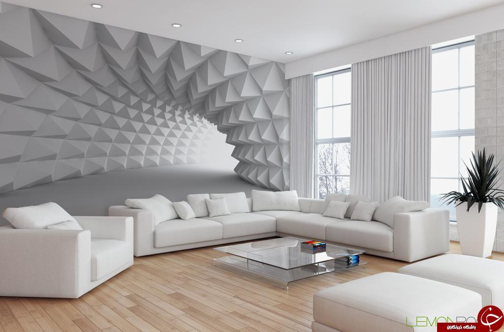 49 طرح زیبای کاغذ دیواری برای پذیرایی 2018