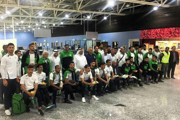 تیم فوتبال ذوب آهن وارد امارات شد