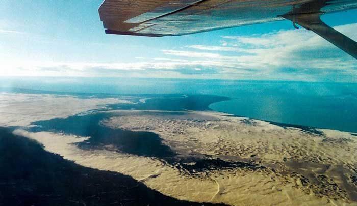 تپه های ماسه ای آتاباسکا؛راه دسترسی به اینجا فقط هوایی است! ، تصاویر