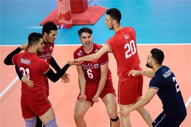 قهرمانی تاریخی جوانان والیبال ایران در دنیا