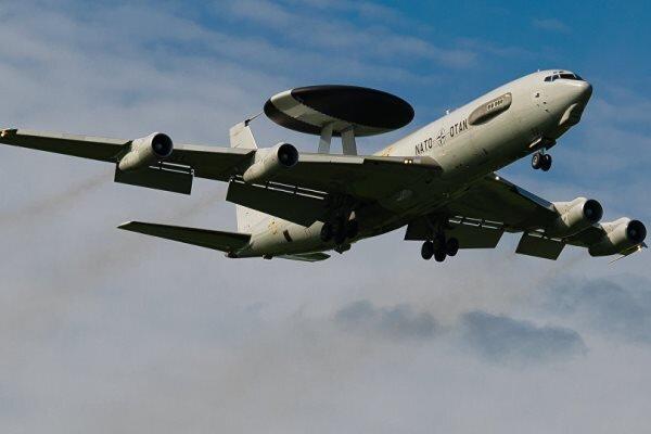 پرواز هواپیمای جاسوسی آمریکا در نزدیکی مرز روسیه