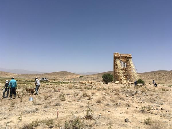 فصل سوم کاوش های باستان شناسی در محوطه باستانی پاسارگاد آغاز شد