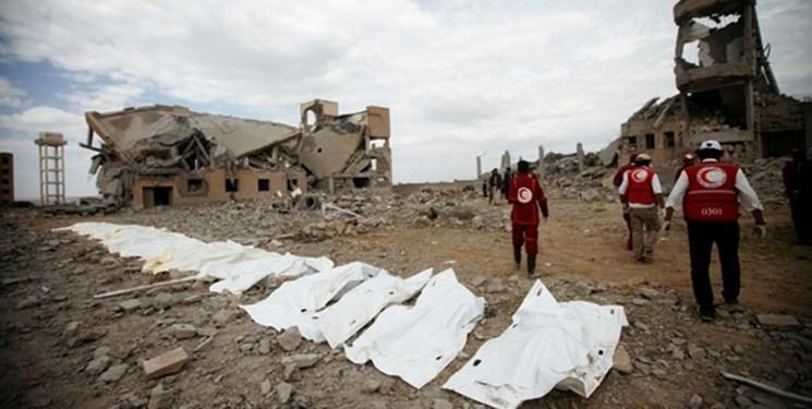 آمار نهایی جنایت ائتلاف سعودی در الجوف؛ 35 کشته از جمله 26 کودک