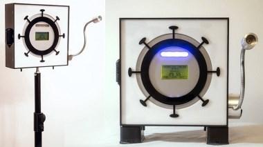 استند دیجیتال لیزری تشخیص تب ساخته شد