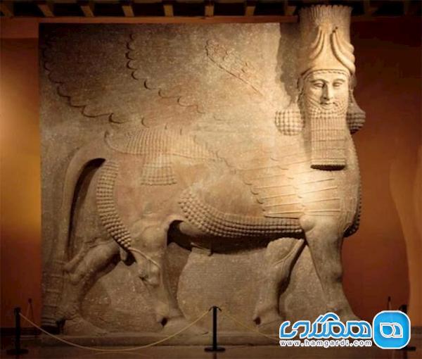 کشف کاخ امپراطوری آشور در ویرانه های موصل