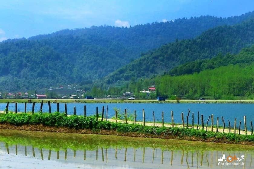 دریاچه یا آبگیر سراگاه، تجربه آرامش در طبیعت بکر تالش، عکس