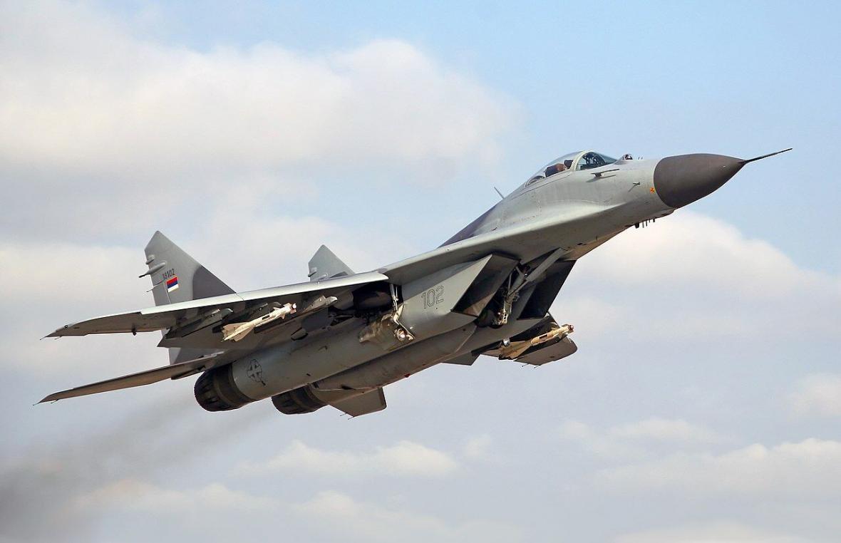 خبرنگاران روسیه تعدادی جنگنده میگ 29 تحویل ارتش سوریه داد